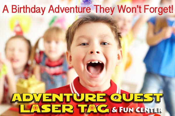 Laser Tag parties New Orleans