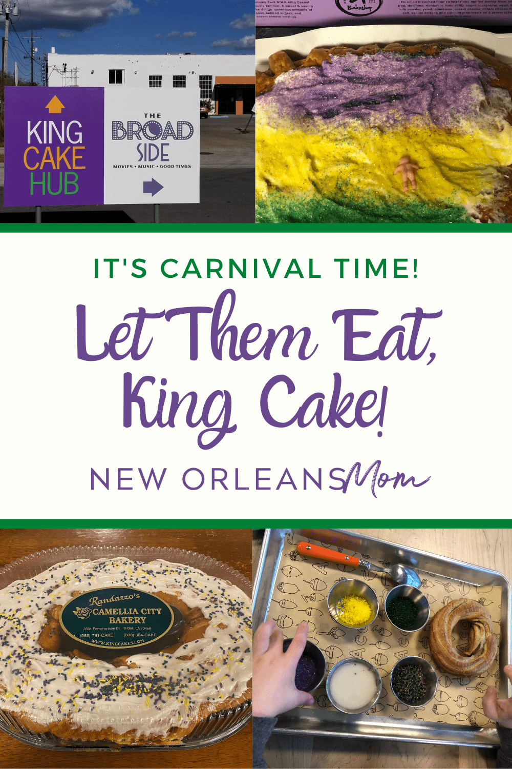 how to ship a king cake in New Orleans