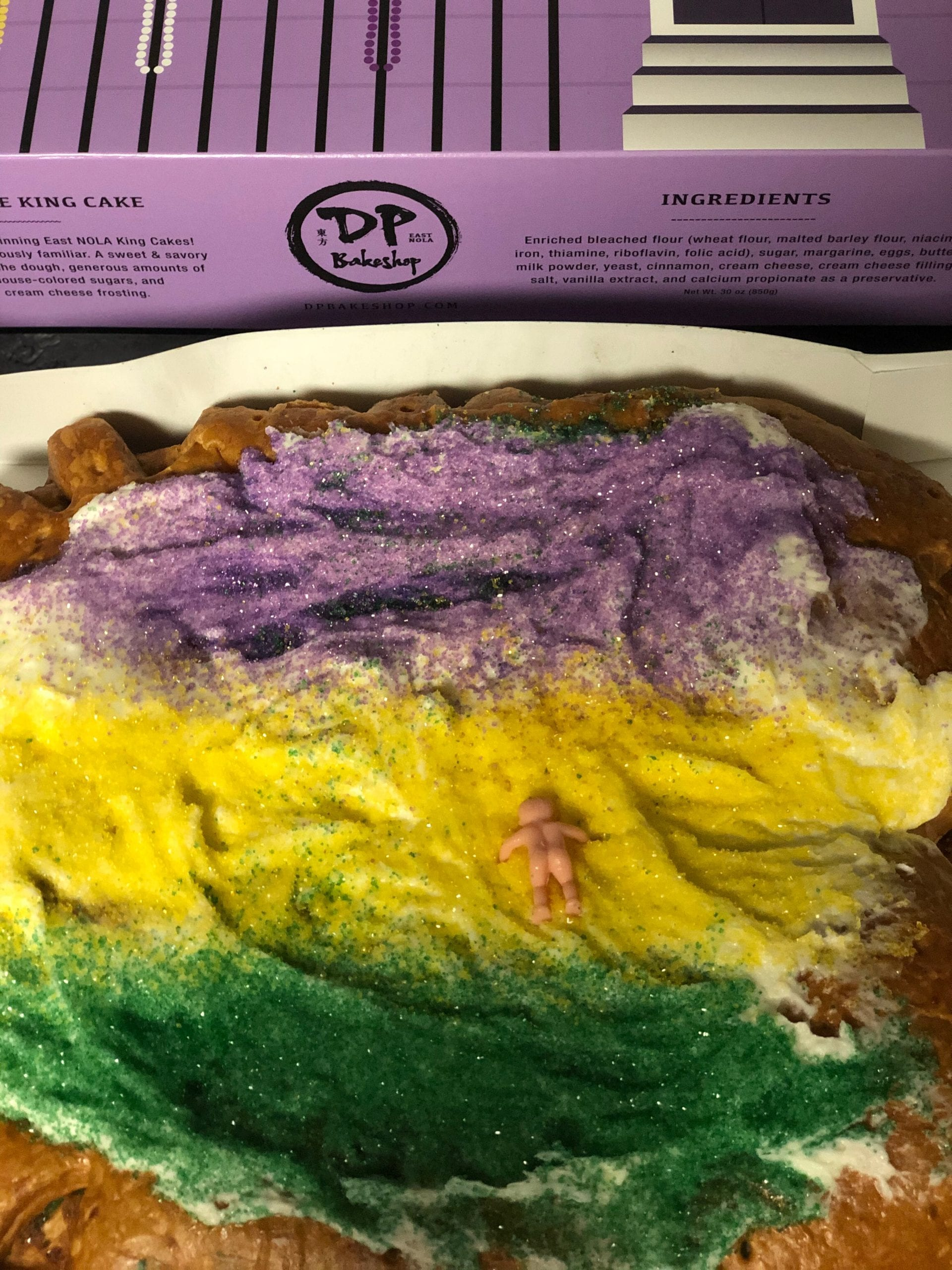 king cake curbside pick up New Orleans