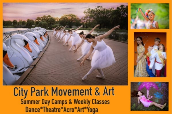 City Park Dance and Art Camp in New Orleans