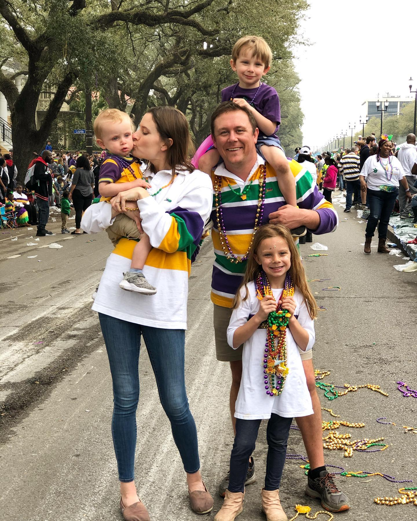 Mardi Gras in New Orleans with Kids