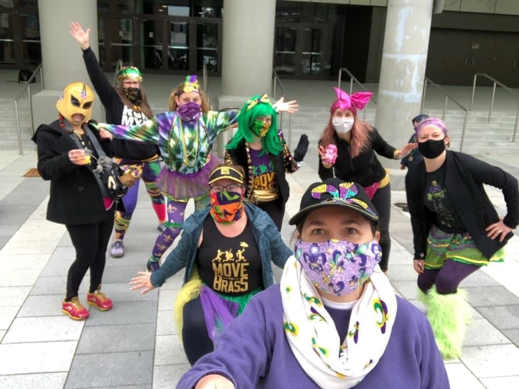 Run a 5K in Mardi Gras costumes