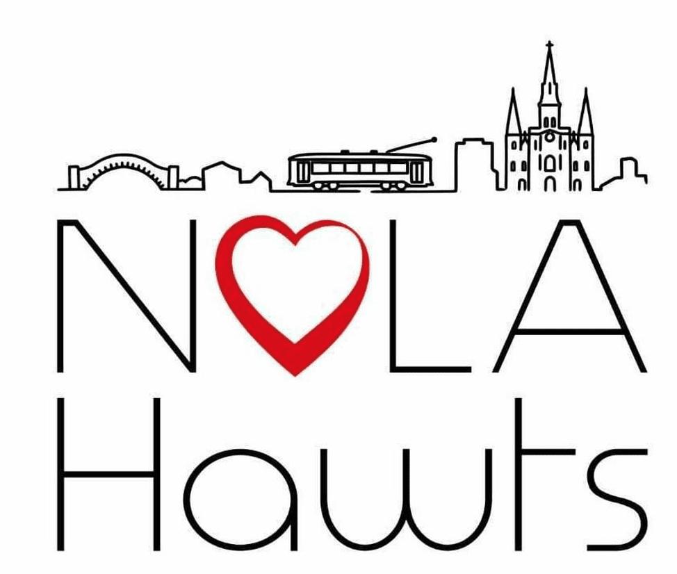 NOLA Hawts Podcast Logo
