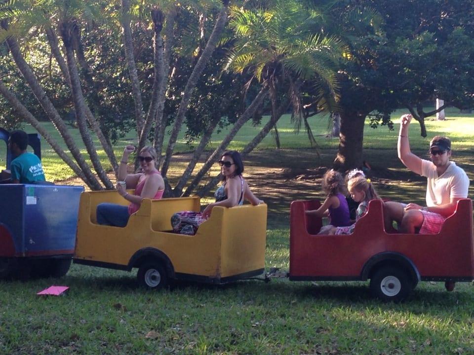 adults having fun at kids' birthday parties