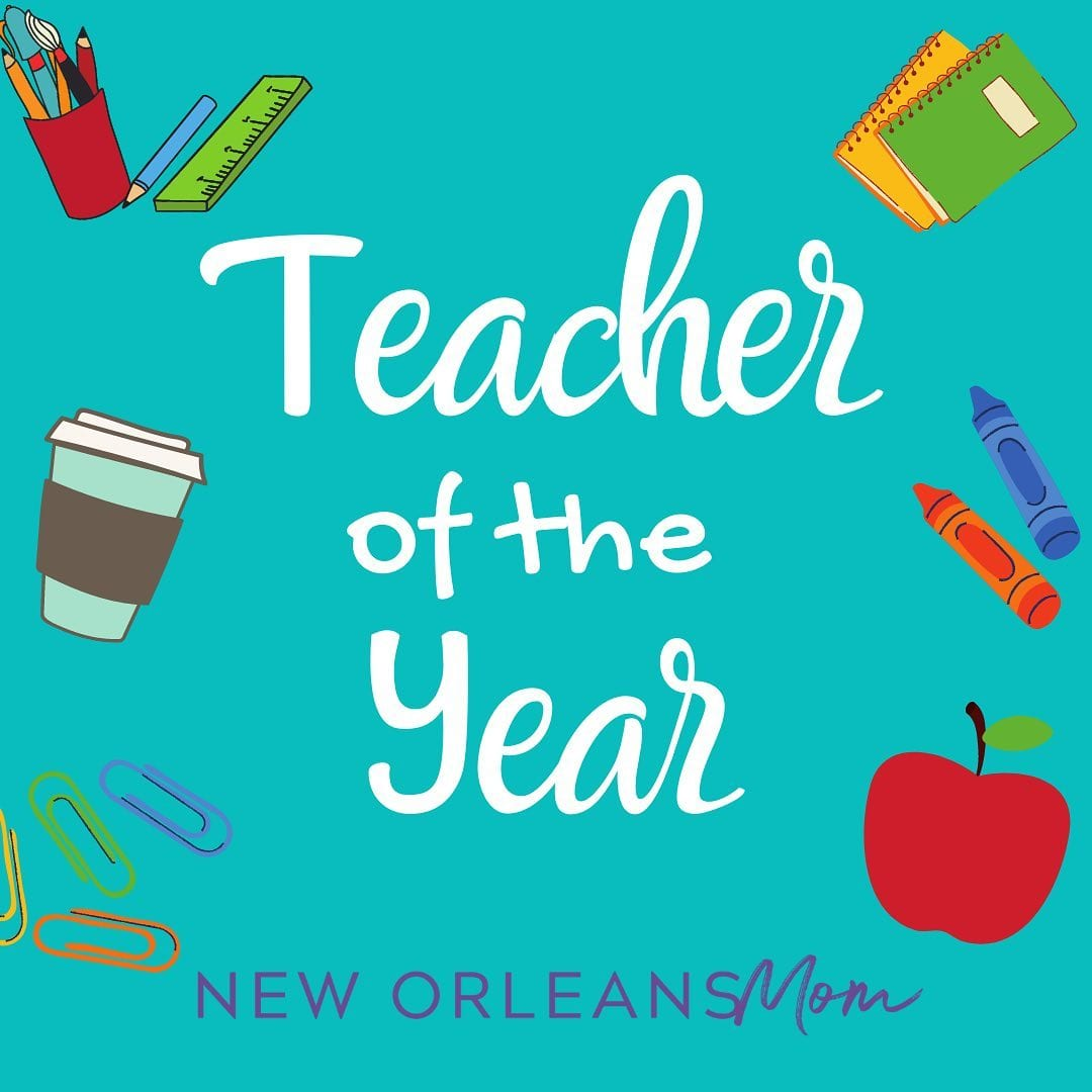 New Orleans Mom Teacher of the Year