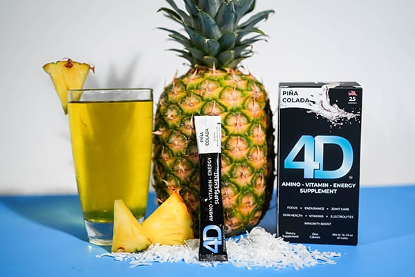 Stay hydrated this summer with 4D
