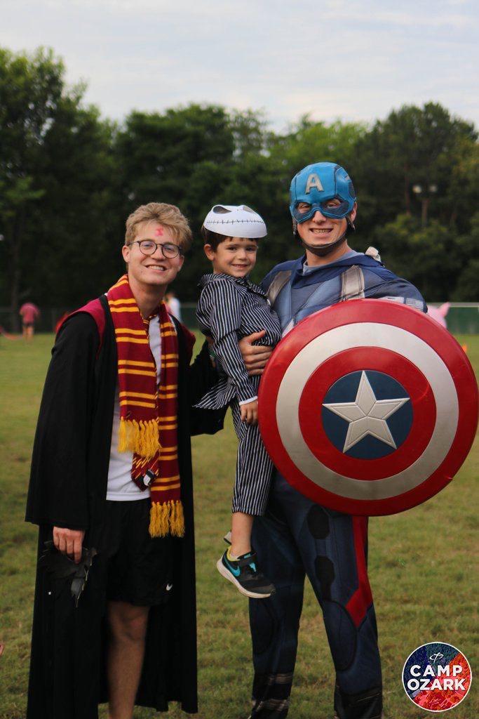 superheroes at sleepaway camp