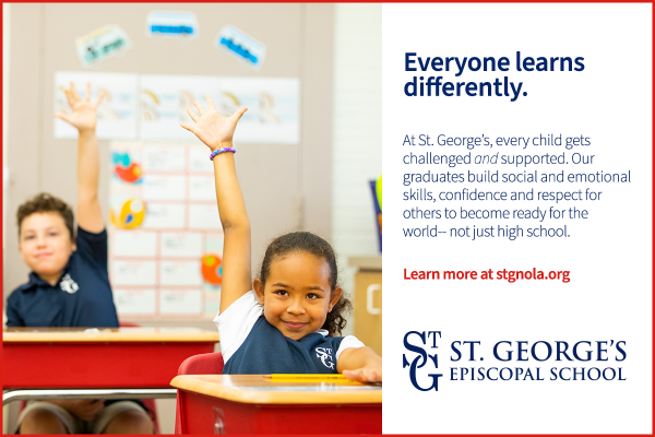 St. George's Episcopal School is built on the idea that everyone learns differently.