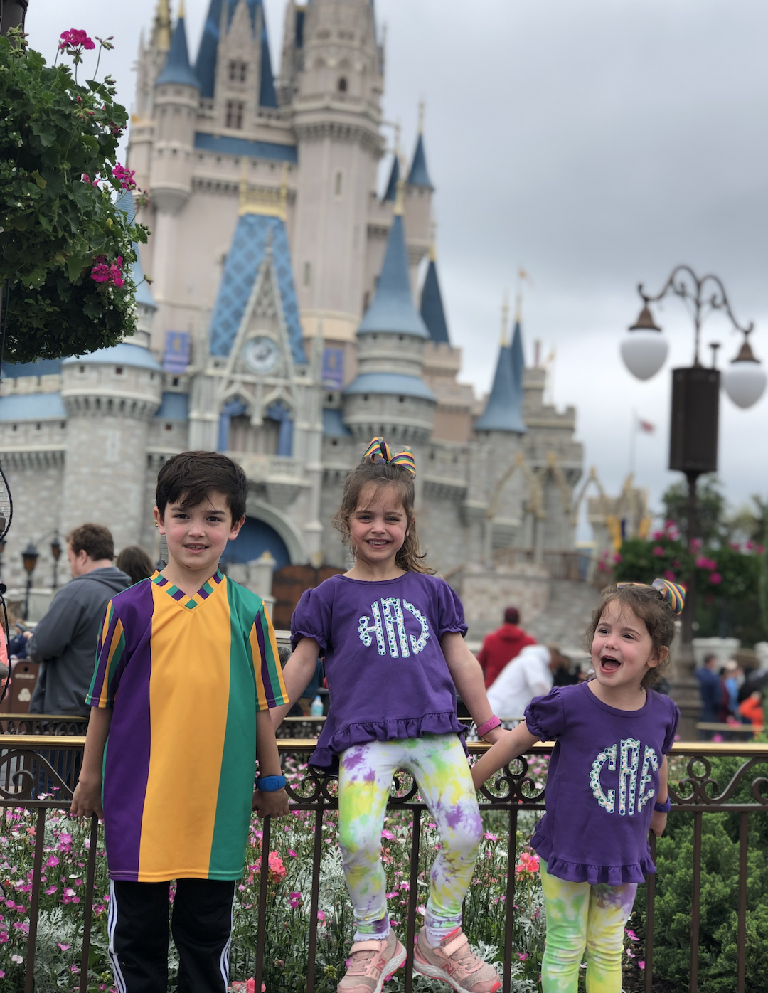 we are a Disney family in New Orleans